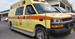הפצוע פונה לבית חולים העמק