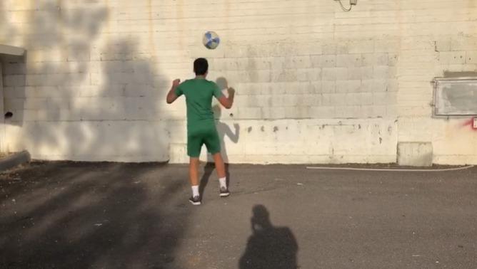 שחר הרוניאן באתגר הקיר
