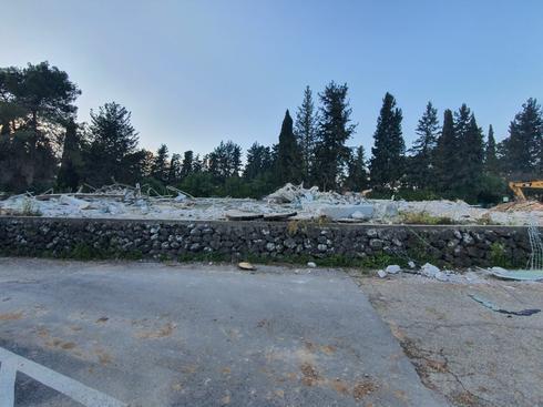 הריסות בית ציפורי בכפר גלעדי