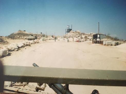 הכניסה למוצב 'גלגלית',  1995