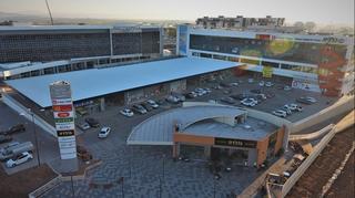 המרכז המסחרי ליד צומת הקאנטרי