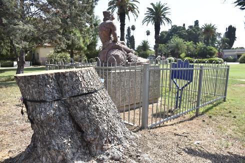 פסל דוד הרועה רמת דוד