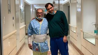 תורם הכליה גונן גלזר והנתרם רני שרוני אחרי הניתוח