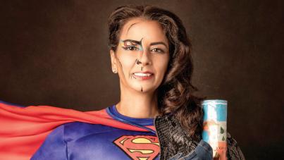 הילה תמים. סופרמן