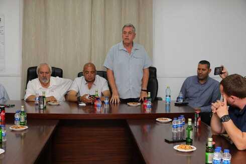 מפגש ראשי הרשויות