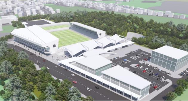 האצטדיון החדש בקריית שמונה