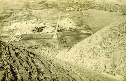 מבט על סנור מקבר השייח', 1972