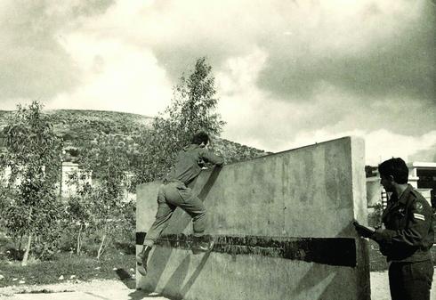 הקיר במסלול המכשולים בסנור, 1973