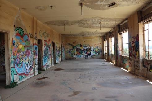 אחד החדרים הגדולים באגף המערבי