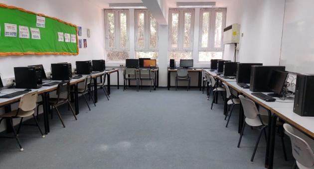 בית ספר אורן לאחר השיפוץ