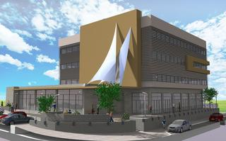 הדמית המרכז (באדיבות עיריית נצרת עילית)