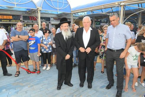 חנוכת מרכז רסקו (צילום: ישראל פרץ)