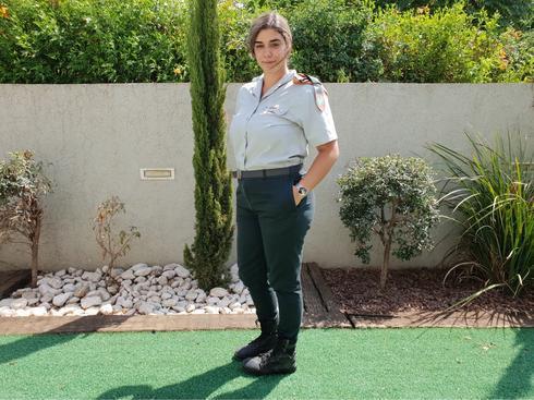 """רס""""ל ליה ויצמן. רוצה להמשיך בצבא (צילום: דובר צה""""ל)"""
