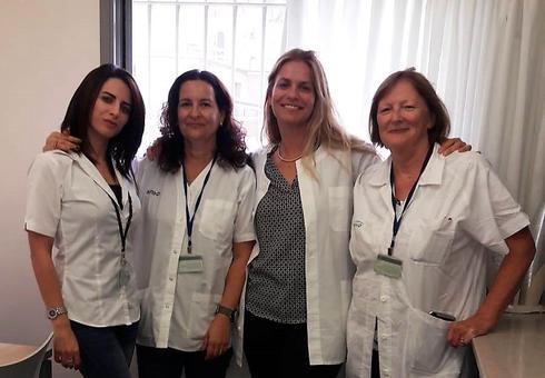 צוות בית שאן ב'1 | צילום: שירותי בריאות כללית