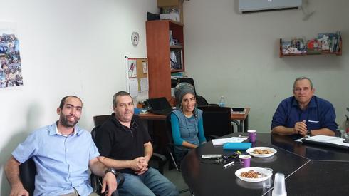 """צוות חשיבה והעמקה של הגרעין התורני ציוני (צילום: נב""""ס)"""