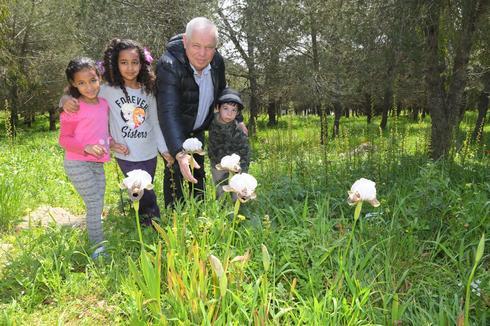 ארש העיר נצרת עילית רונן פלוט בשביל הפריחה (צילום: ישראל פרץ)