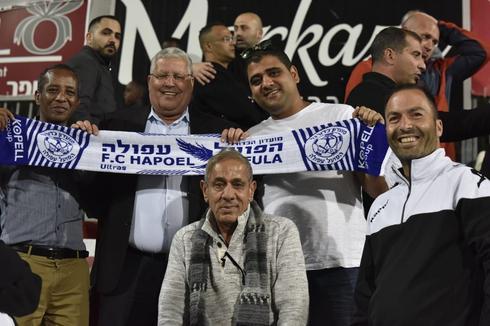 סגן ראש העיר שלמה מליחי גם הגיע לתמוך