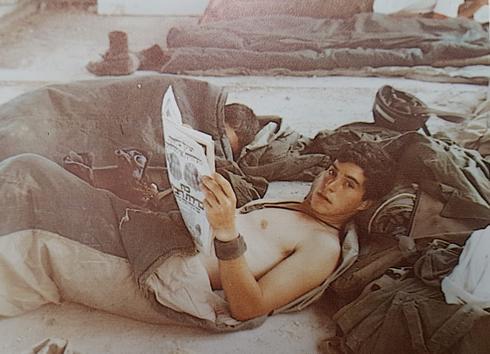 מנוחת שבת באחת ה'וילות' בלבנון   צילום: מתוך האלבום האישי