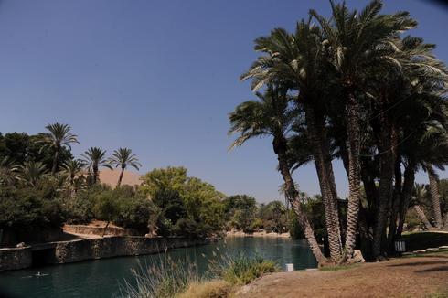 גן השלושה הסח'נה (צילום: ערן יופי כהן)