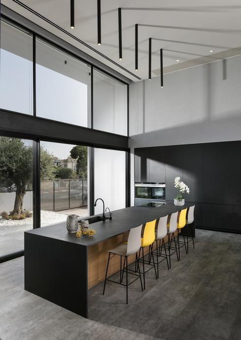 משטחי למינם, תכנון אדריכלית יעלה דגנית איבגי, צילום: אלעד גונן