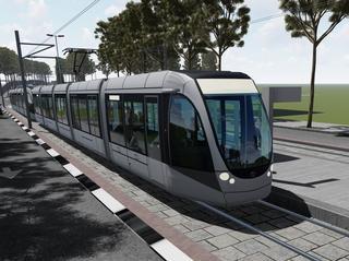 רכבת קלה חיפה-נצרת. הדמיה: RDV Systems