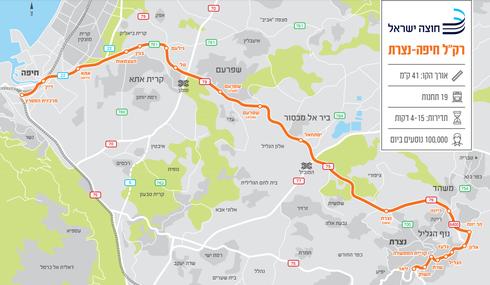 רכבת קלה חיפה-נצרת
