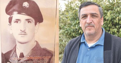 חביב פרץ (צילום: שרון צור) ואביו רחמים (צילום: אלבום פרטי)
