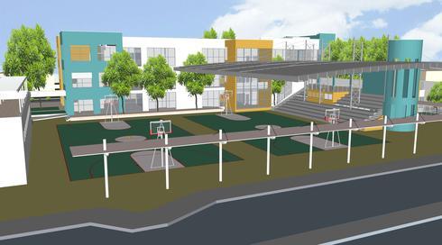 המבנה החדש (צילום: דוברות עיריית עפולה)