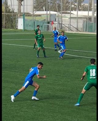 עילאי עזר היום במשחק נגד חיפה (צילום: אלבום פרטי)
