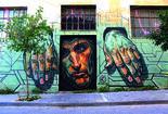 גרפיטי ברחובות אתונה. באדיבות גרפיטיול