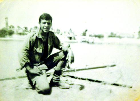 בני מסס במהלך שירותו בגולני | צילום רפרודוקציה: ערן יופי כהן