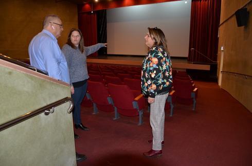אולם הקולנוע החדש (צילום: דוברות עיריית מגדל העמק)