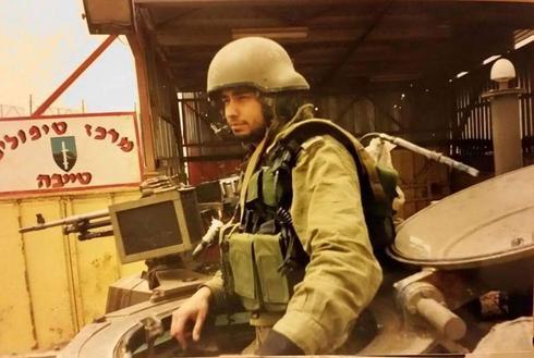סאל' במיל' שי שמש כמפקד מוצב טייבה | צילום: אלבום פרטי