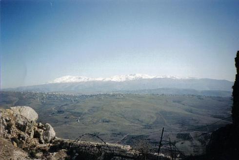 נוף פסטורלי מראש המצודה   צילום: אורן רוזנפלד