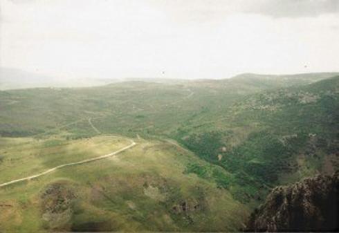 הנוף שנפרש מהבופור   צילום: אביגדור מבורך