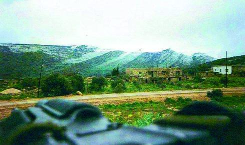 'עיקול המוות' בדרך עישייה 1998 * צילום: פרטי